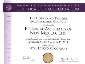 Image Fetal Echocardiography Accreditation